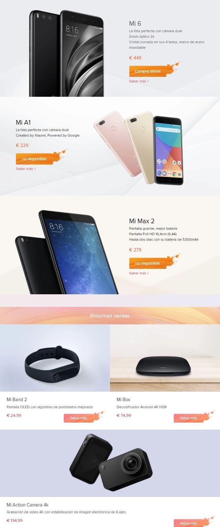 Xiaomi se queda sin stock en su web oficial y en las demás ...