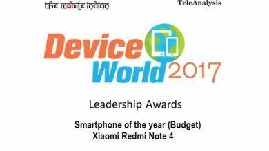 Photo of El Redmi Note 4 gana el premio a mejor smartphone