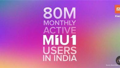 Photo of MIUI alcanza los 80 millones de usuarios activos en India antes del lanzamiento de la nueva versión