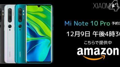 Xiaomi Mi Note 10 Pro Japón