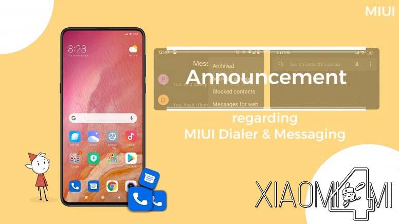 Xiaomi telefono y mensajes