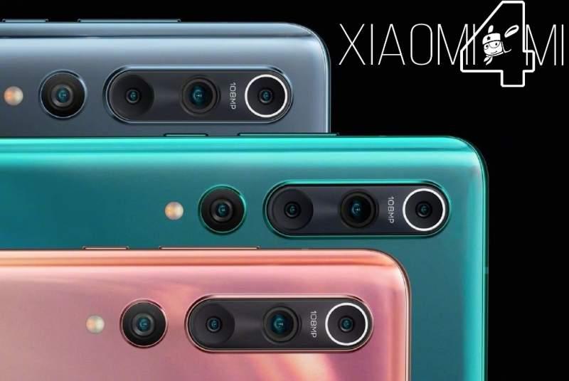 Xiaomi Mi 10 lentes