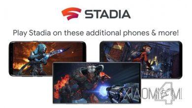 Photo of Xiaomi se queda fuera del soporte de Google Stadia para smartphones