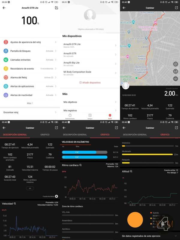 Amazfit GTR Lite App