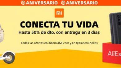 Photo of 10º aniversario de AliExpress con ofertas en productos Xiaomi