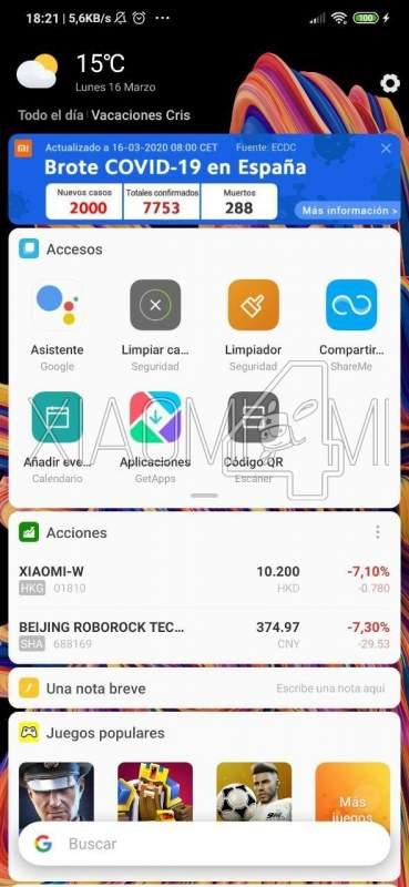 Xiaomi Coronavirus