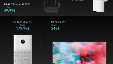 Photo of Xiaomi Mi TV 4S 65″ y otros 4 productos para el hogar llegan a España