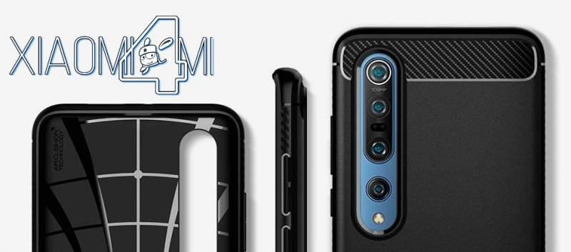 Xiaomi Mi 10 Mi 10 Pro funda Spigen