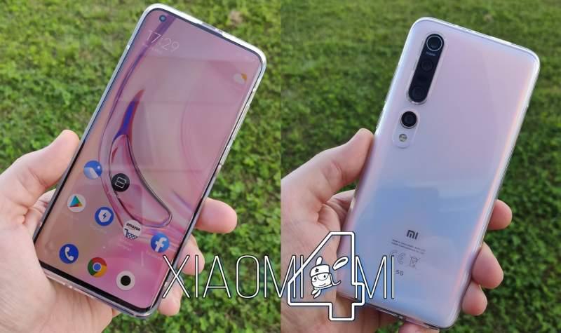 Xiaomi Mi 10 Pro por delante y por detrás