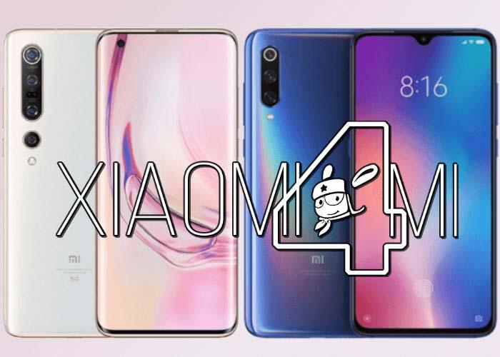 Xiaomi Mi 10 Pro vs Xiaomi Mi 9