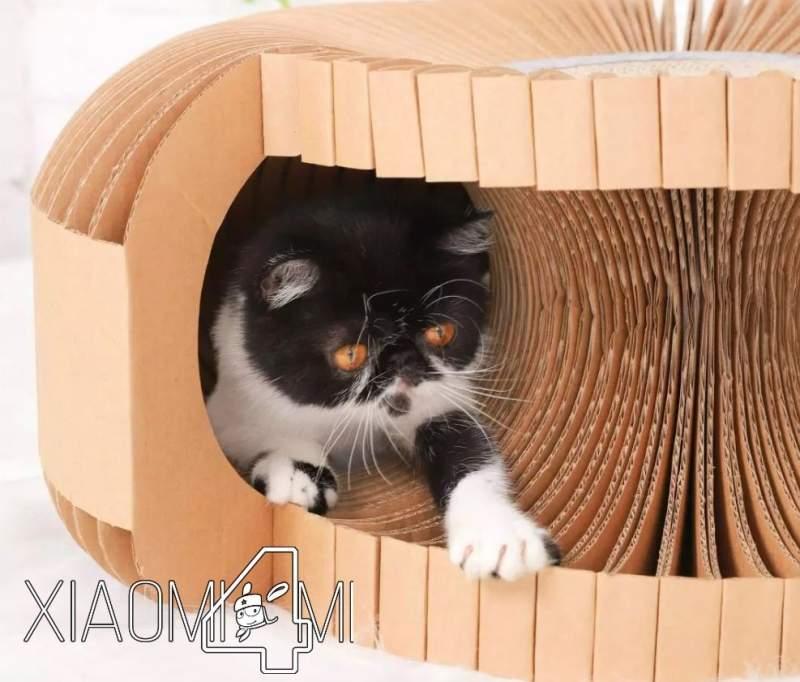 Casa gatos cartón Xiaomi Youpin