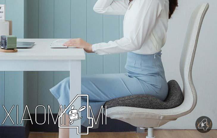 Xiaomi pone a la venta un cojín que mejorará tu postura y aliviará los dolores de espalda
