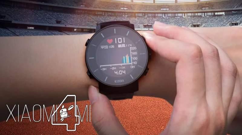 Xiaomi smartwatch Youpin running