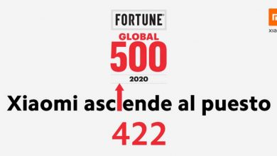 Photo of Xiaomi ocupa la posición 422 en la lista Fortune Global 500 de 2020