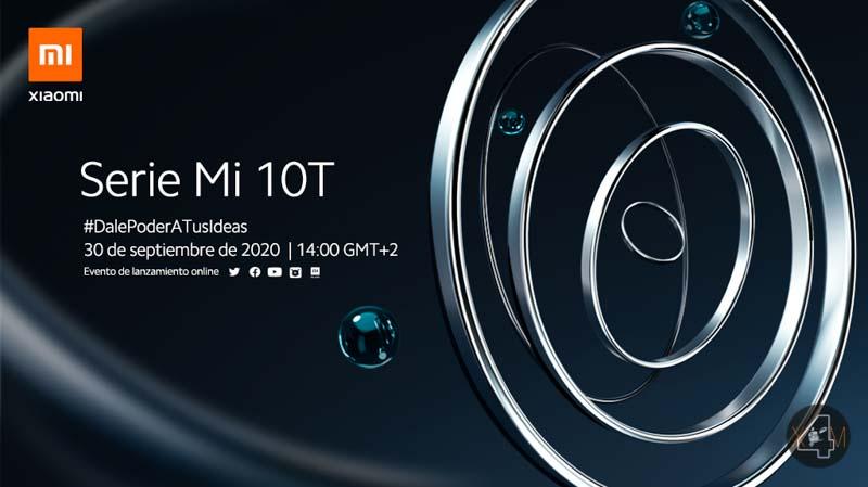 Xiaomi presentará la serie Mi 10T el próximo día 30 de septiembre