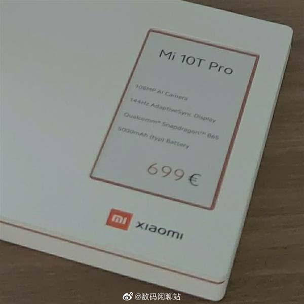 Xiaomi Mi 10T Pro precio