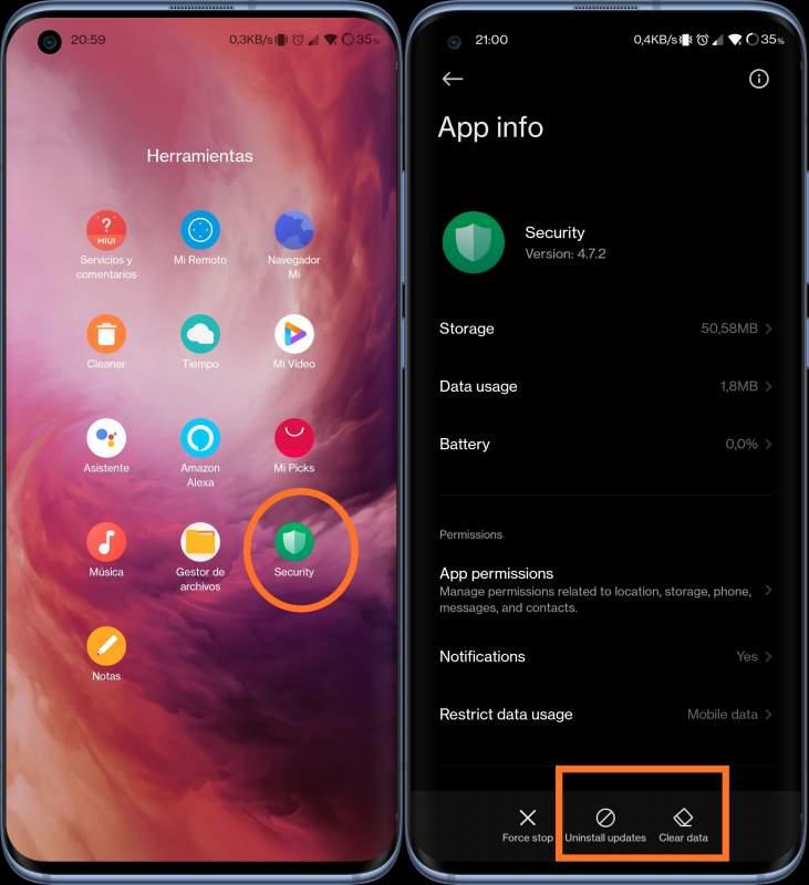 MIUI Xiaomi Security Error