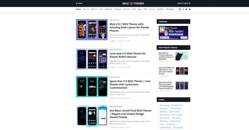 Xiaomi MIUI Temas Themez Xiaomi Noticias