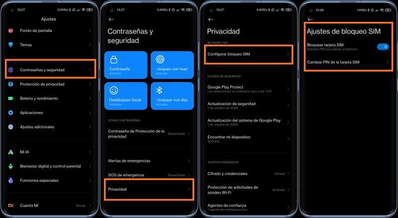 Privacidad Xiaomi, ajustes de MIUI que son seguridad - Noticias Xiaomi